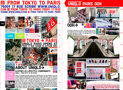 uniqlo from tokyo to paris seishi ono works tsujimanagement